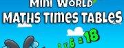 Mini World Maths Times Tables