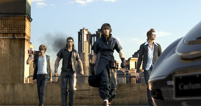 JRPG Final Fantasy Versus XIII