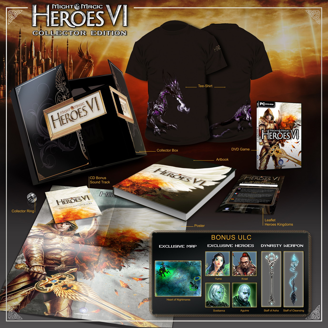 Heroes VI Collector's Edition