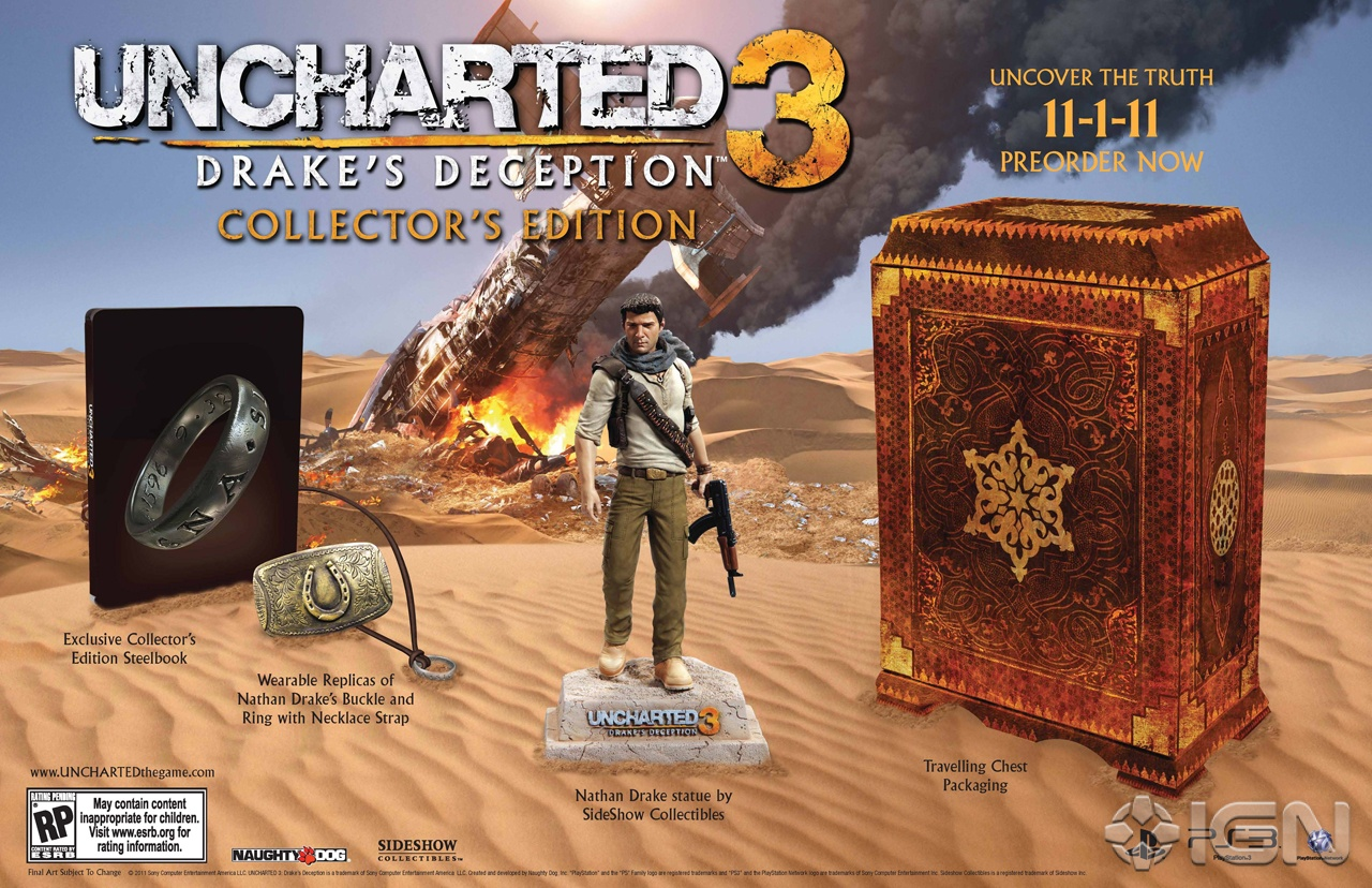 Uncharted 3: Drake Deception Collector's Edition