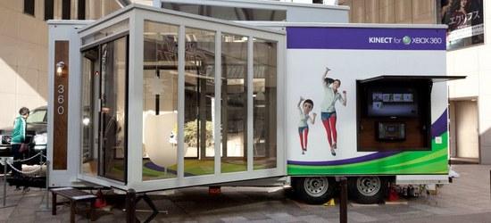 Kinect Experience Caravan Car Event